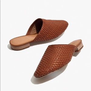 Madewell Cassidy woven leather mules